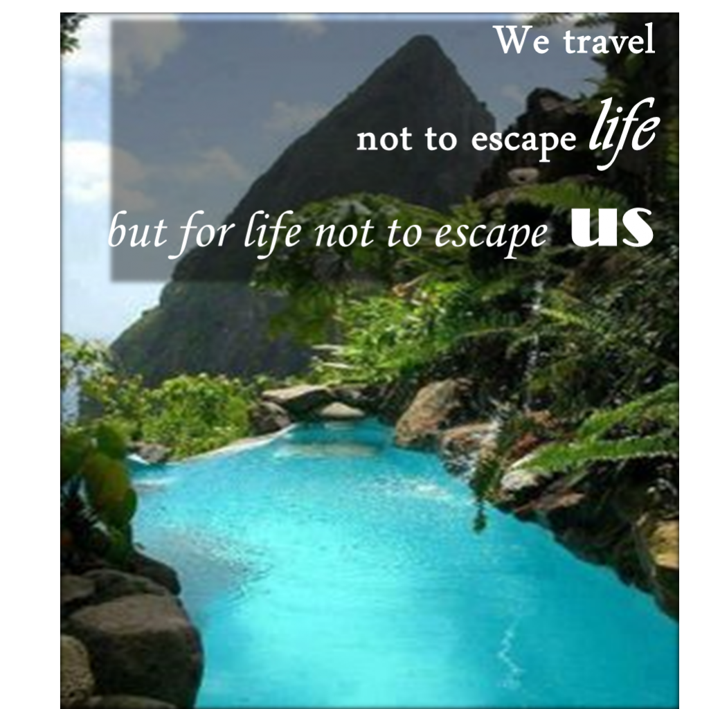 Do You Escape Life ?